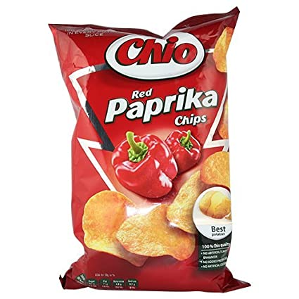 Chio Red Paprika Chips Product of Poland 100 g
