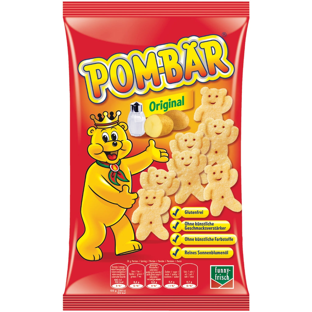 Pombar Original Potato Snack Product of Germany 100 g