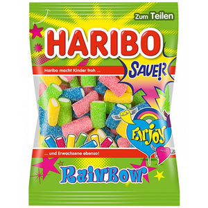 Haribo Rainbow Sour Filled Gummies Product of EU 175 g