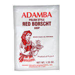 Adamba Polish Style Red Borsch Soup Sachet (Cream of Mushroom) Product of Poland 1.25 oz