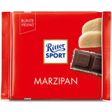Ritter Sport Marzipan (Dark Chocolate with Marzipan) Product of Germany 3.5 oz