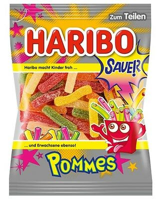 Haribo Sour Pommes Gummies Product of Germany 200 g
