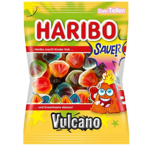 Haribo Sour Vulcano Fizz Product of EU 175 oz