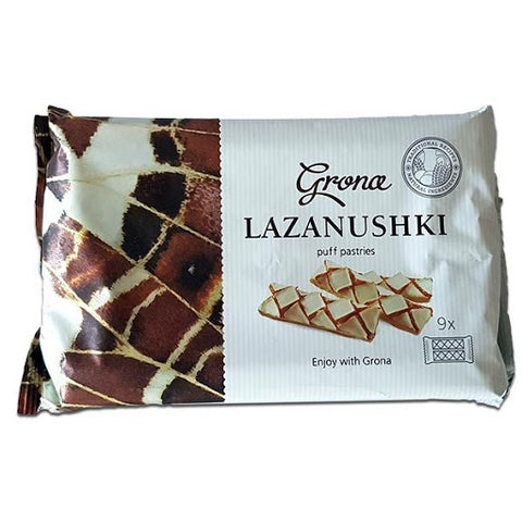 Grona Lazanushki Puff Pastries Product of Ukraine 160 g