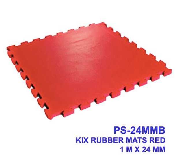 Interlocking Rubber Mat Tiles