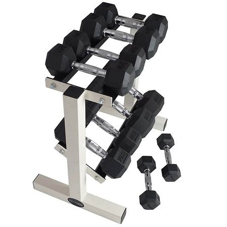 2 Tier  hex dumbbell rack