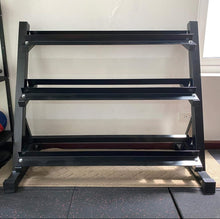 Load image into Gallery viewer, 3-Tier Dumbbell Rack