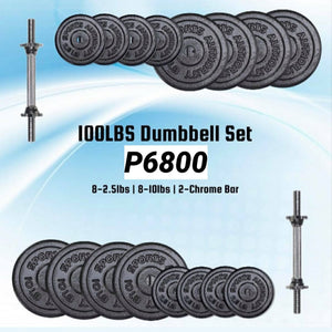 100lbs Dumbbell Set