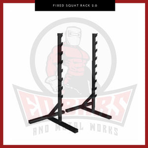 Fixed Squat Rack 2.0