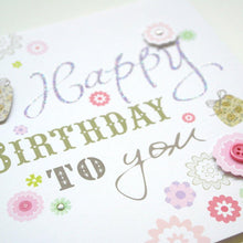 Load image into Gallery viewer, Happy Birthday Card - SimplySili Labels