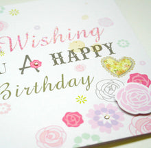 Load image into Gallery viewer, Wishing Birthday Card - SimplySili Labels