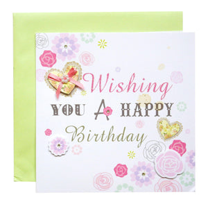 Wishing Birthday Card - SimplySili Labels