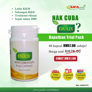 ESULIX TRAIL PACKS (40 CAPSULES)