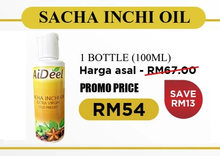Load image into Gallery viewer, Sacha Inchi Oil (sachet) 5g x 30 sachets/box