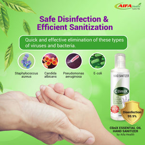 Hand Sanitizer - CliniX by AIFA Health 77 Unit (1 cartoon) - 100ml