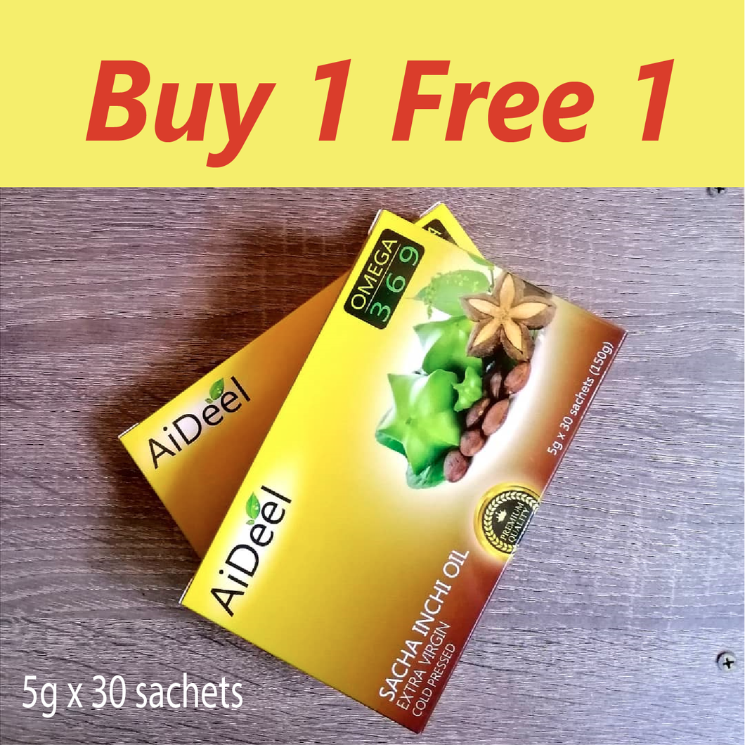 Sacha Inchi Buy 1 free 1 Aideel