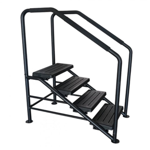 4 Tier Swim Spa Steps - Black - Rigo Hot TubsSTEP4