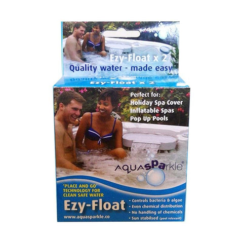 AquaSparkle Premium Spa Care 'Hot Tub Service Pack - Rigo Hot TubsE-FLOAT
