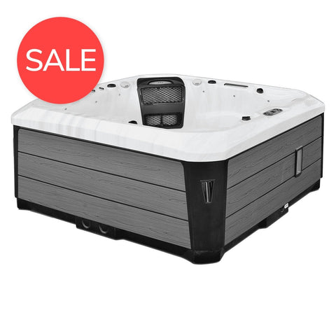 RS two Hot Tub - Rigo Hot TubsRS-two-silver
