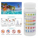 Test & Pool 4 Way Test Strips - Rigo Hot Tubs4in1