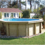 The Dolphin Sport Deluxe Wooden Pool 4.7m x 2.9m x 1.3m - Rigo Hot TubsRigo_Woodendolphin