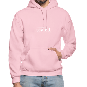 styled. Unisex Hoodie - light pink