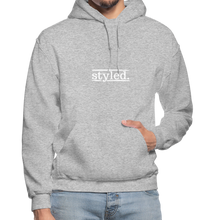 Load image into Gallery viewer, styled. Unisex Hoodie - heather gray