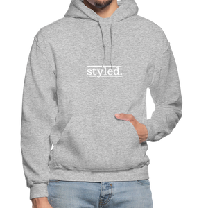 styled. Unisex Hoodie - heather gray