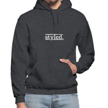 Load image into Gallery viewer, styled. Unisex Hoodie - charcoal gray