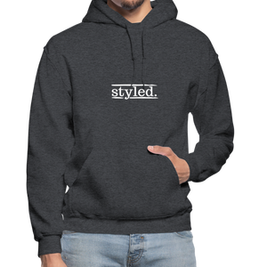 styled. Unisex Hoodie - charcoal gray
