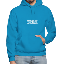 Load image into Gallery viewer, styled. Unisex Hoodie - turquoise