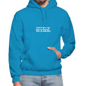 styled. Unisex Hoodie - turquoise