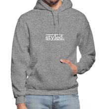 Load image into Gallery viewer, styled. Unisex Hoodie - graphite heather