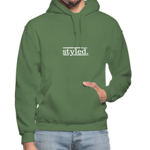 Load image into Gallery viewer, styled. Unisex Hoodie - military green