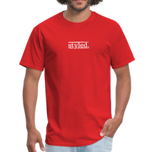 Load image into Gallery viewer, styled. unisex short sleeve tee - red