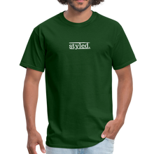 Load image into Gallery viewer, styled. unisex short sleeve tee - forest green
