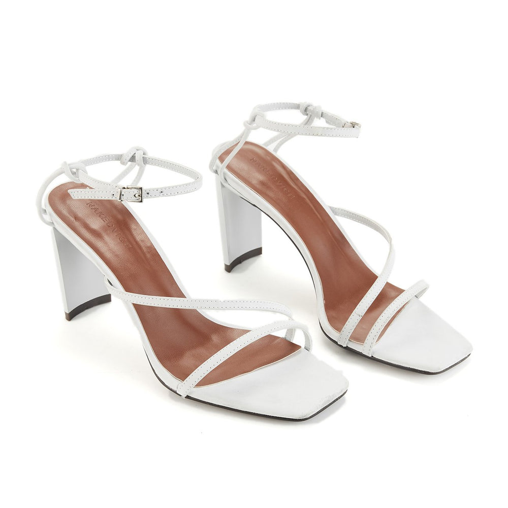 The Cyrus Heel in White