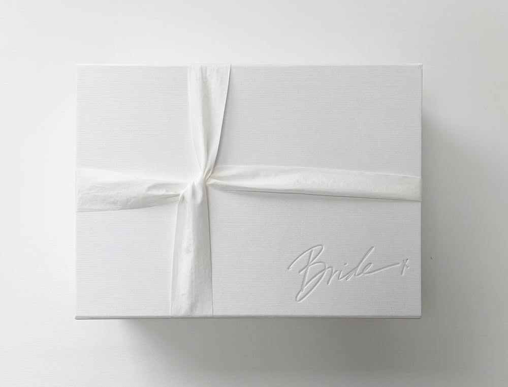 Load image into Gallery viewer, Bride | White Gift Box
