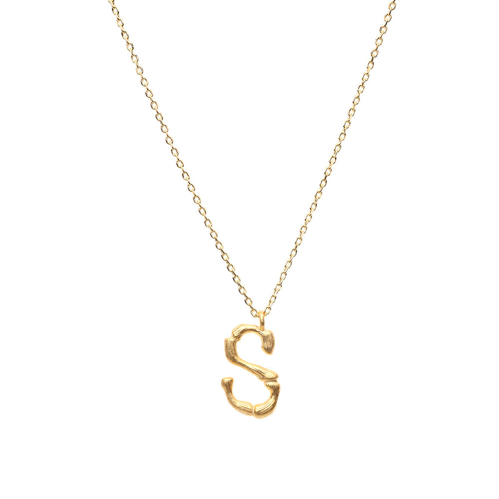 Gold Letter | Necklace