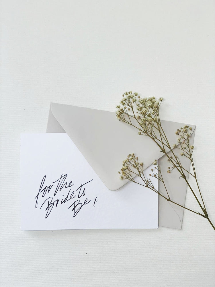 Bride To Be | Greetings Card