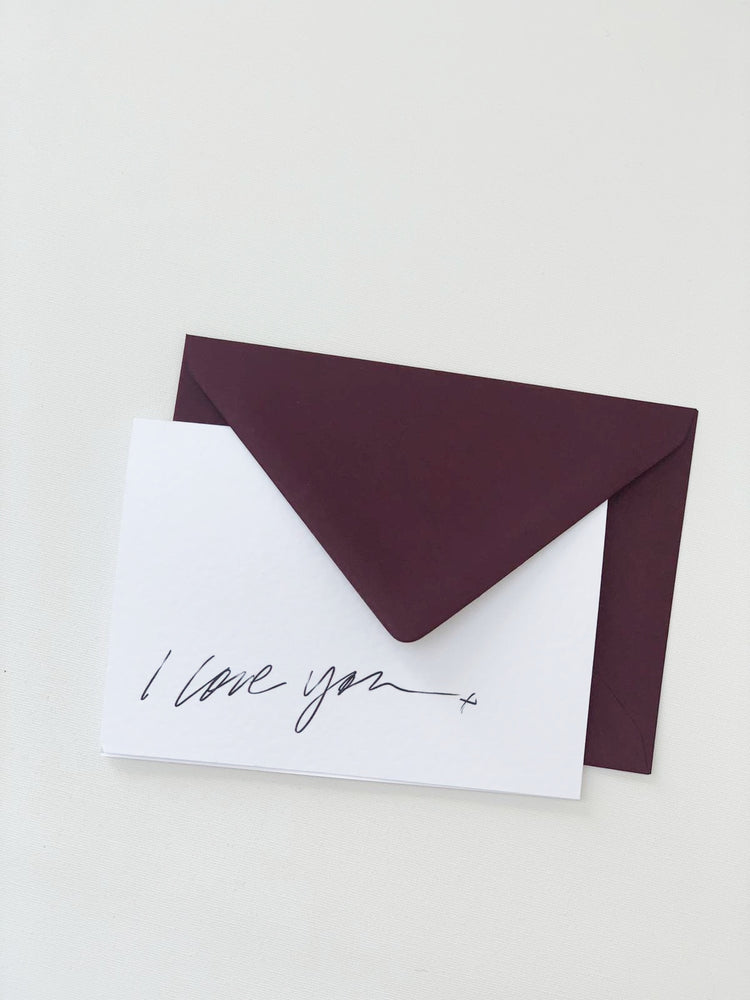 I Love you | Greetings Card