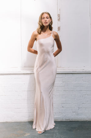Load image into Gallery viewer, Amelia | Maxi Dress - Matte Oyster