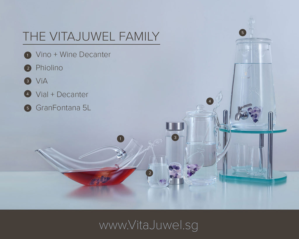 The VitaJuwel Family - Complete Line of Products Availble