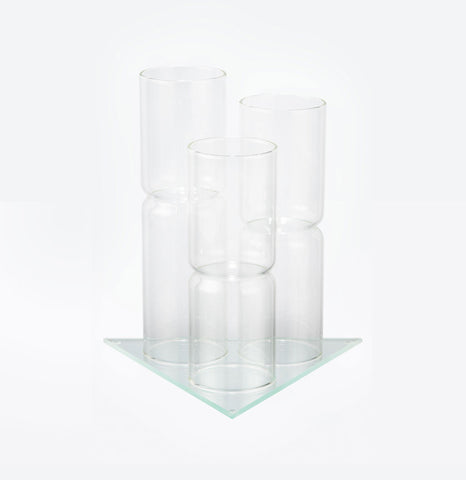 Image of Display for 3 Vials - Glass