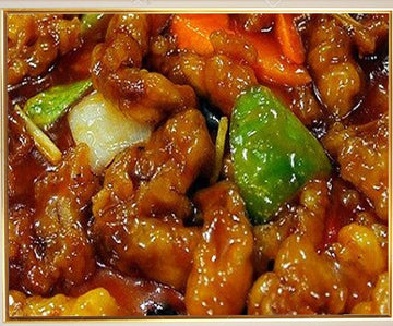 Spicy Sweet And Sour Chicken (Tangsuyuk)