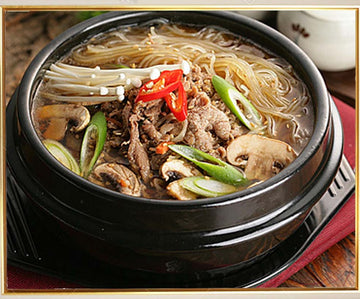 Bulgogi In An Earthenware Pot (Inclusive of rice)