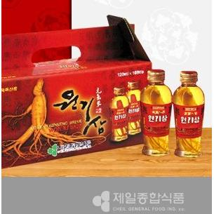 Korean Ginseng Drink Won Ki Sam