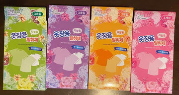 Incense Korean Wardrobe Deodorant (3xRefills)