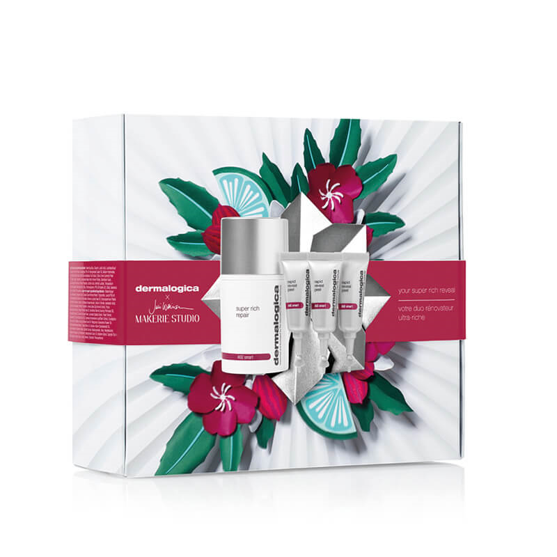 Dermalogica Christmas 'your super rich reveal each'