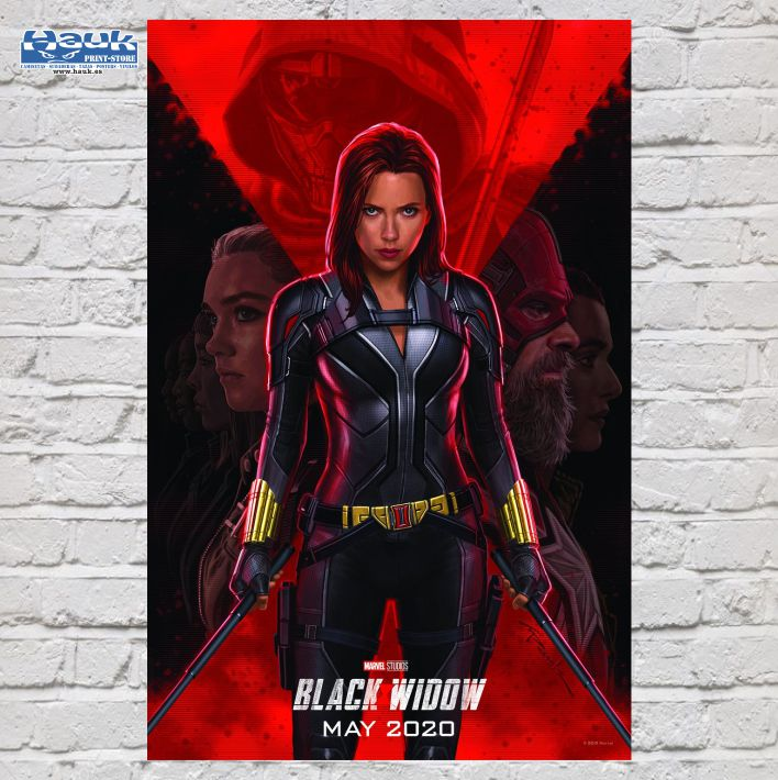 PÓSTER BLACK WIDOW 2.0